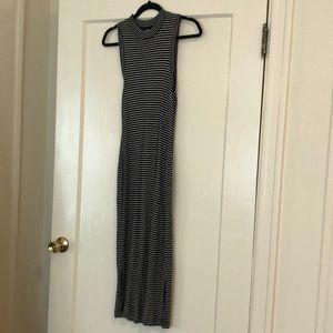 Madewell Mock Neck Midi Dress